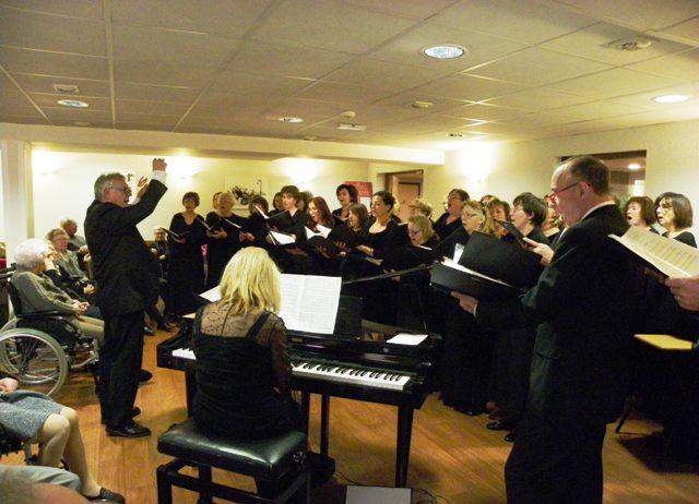 Amadeus Musique en visite à VIVÉA à LIMOGES