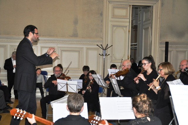 L'Orchestre de l'Espace Amadeus Musique aux instruments